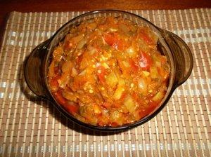Рыбно-овощная закуска