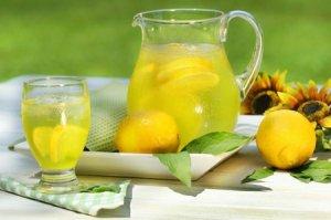 Лимонный морс