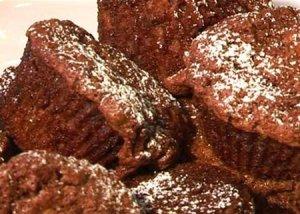 Шоколадно-банановые кексы