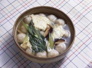 Суп с рыбными шариками