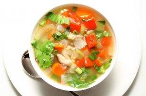 История овощного супа
