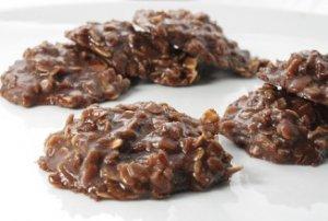 Шоколадно-овсяные оладьи